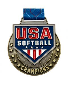 USA Softball Champion Gold Medal