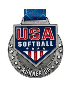 USA Softball Runner-Up Silver Medal